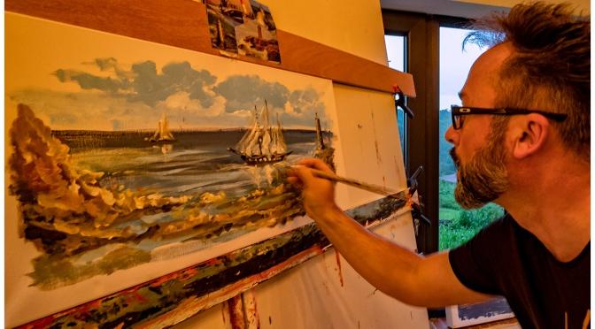 Ladeveze Laurent peinture en Live !