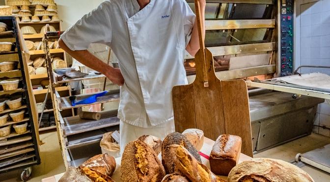 Arthur le boulanger bio du gers !